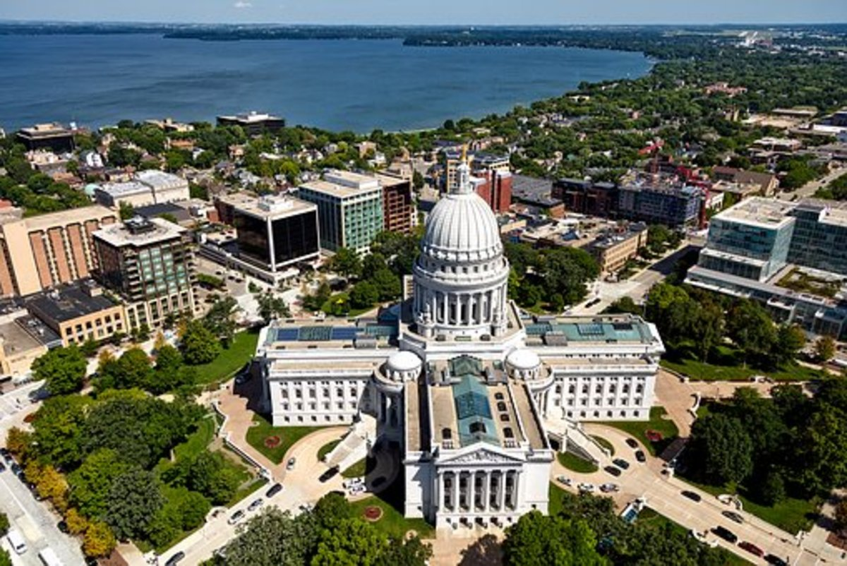 State Capitol Building in Madison