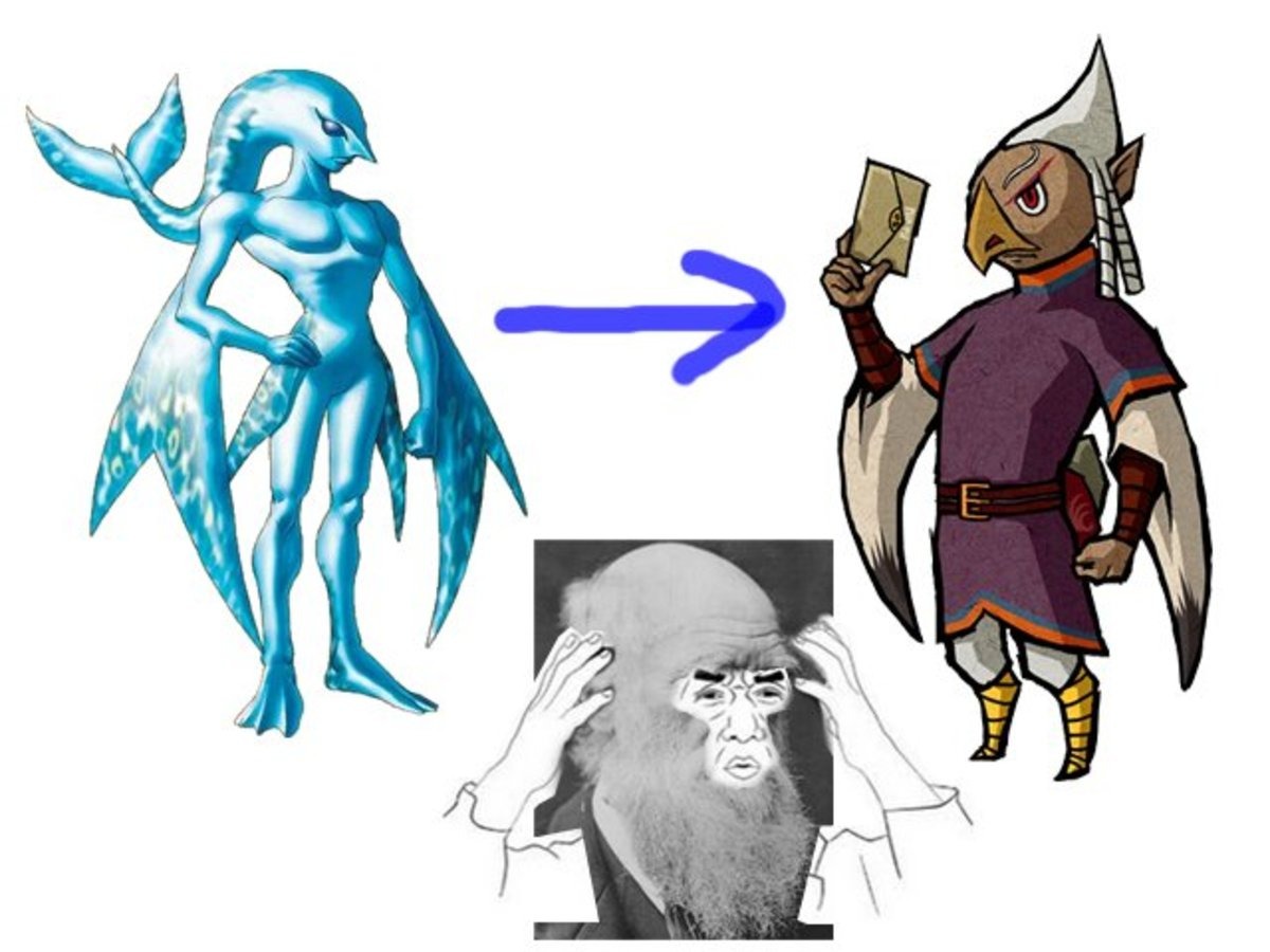 How Could the Rito Be the Evolved Zora?