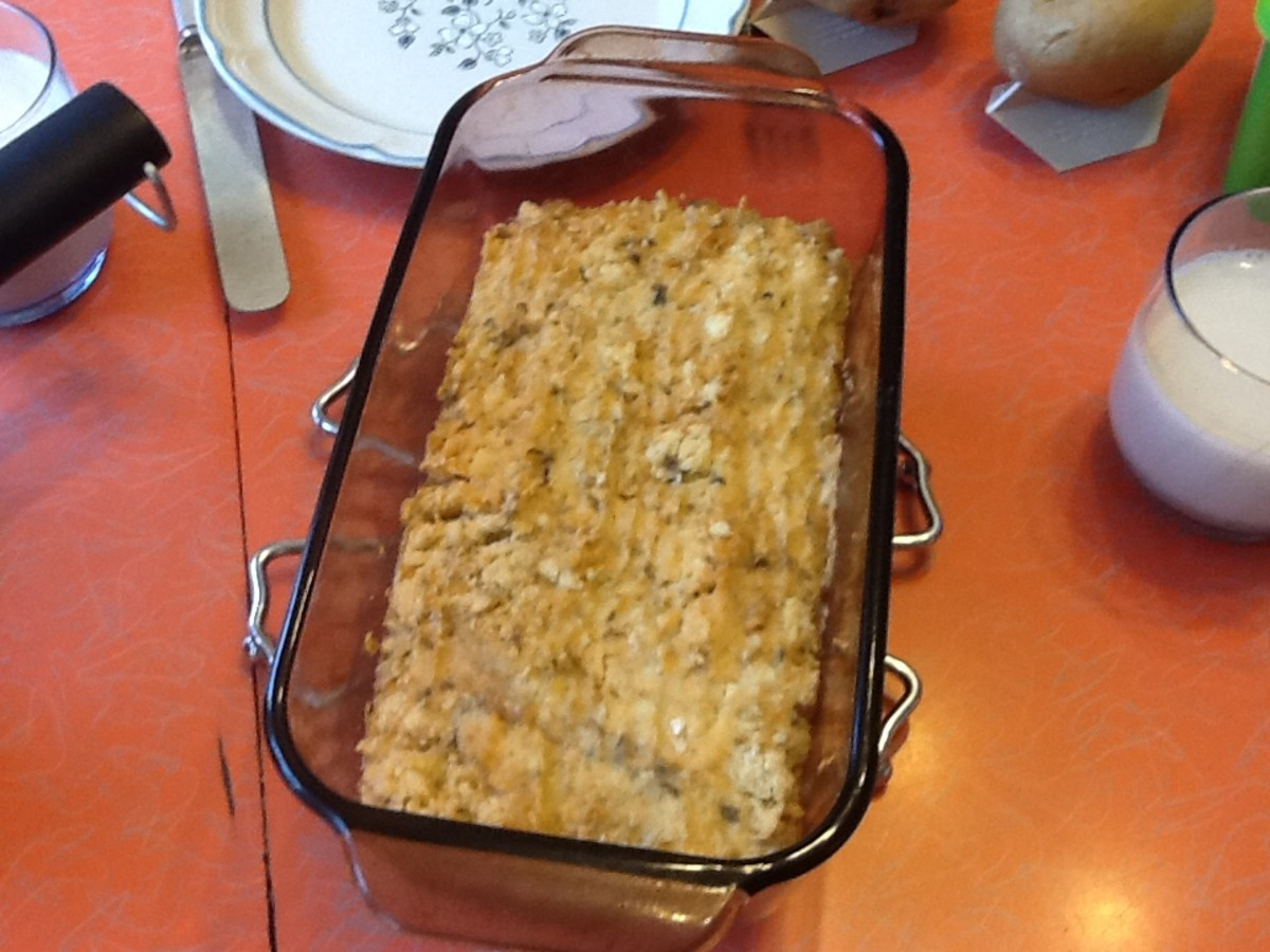 Homemade Salmon Loaf Recipe