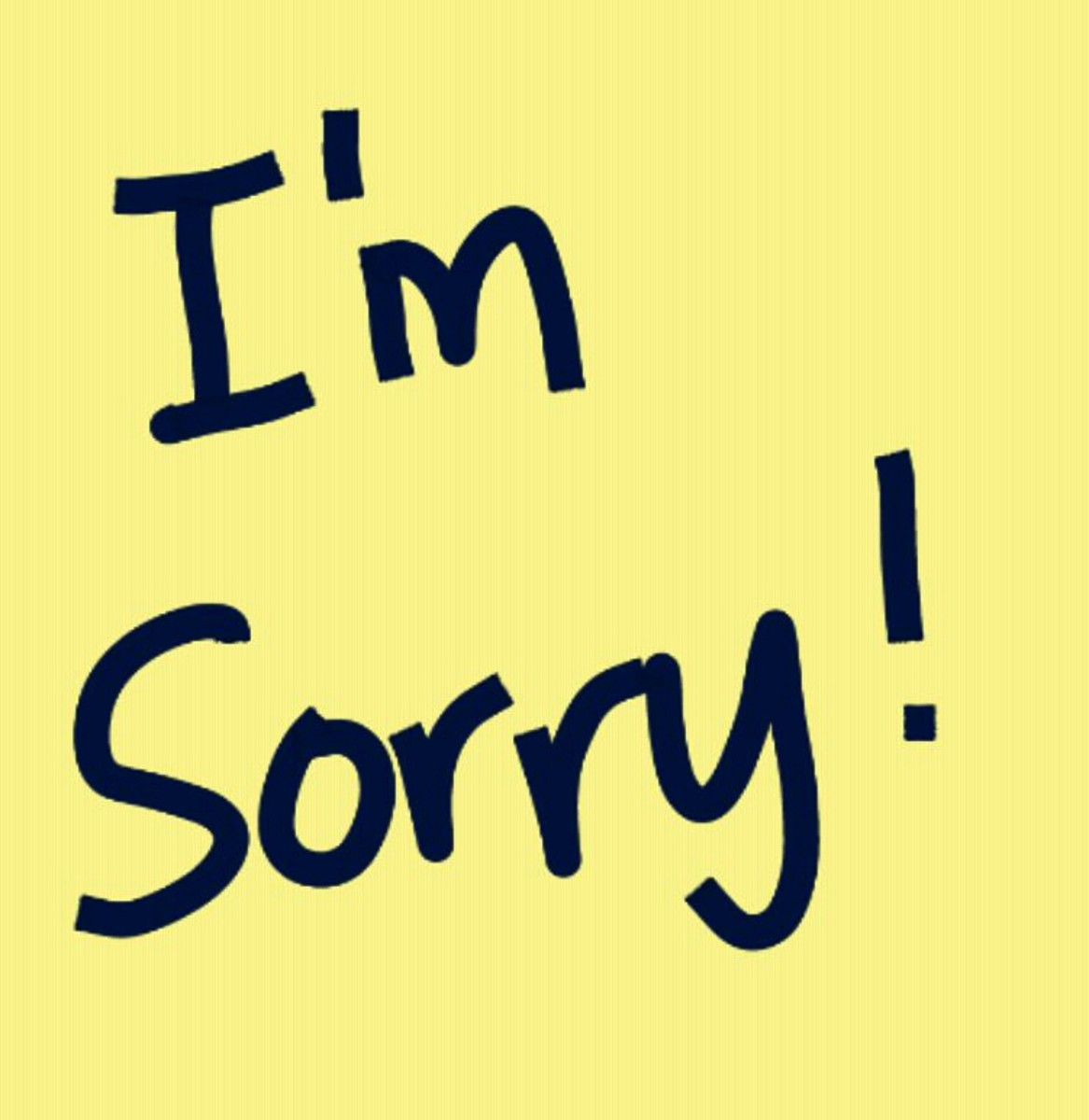 """Just saying, """"I'm sorry"""" is not enough for a genuine apology."""