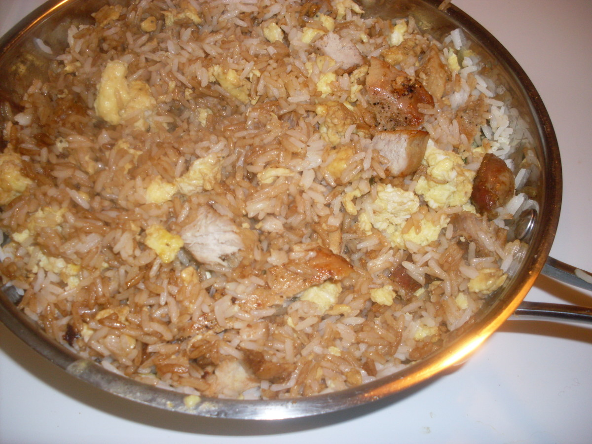 Easy Fried Rice Recipe for Best Pork Fried Rice