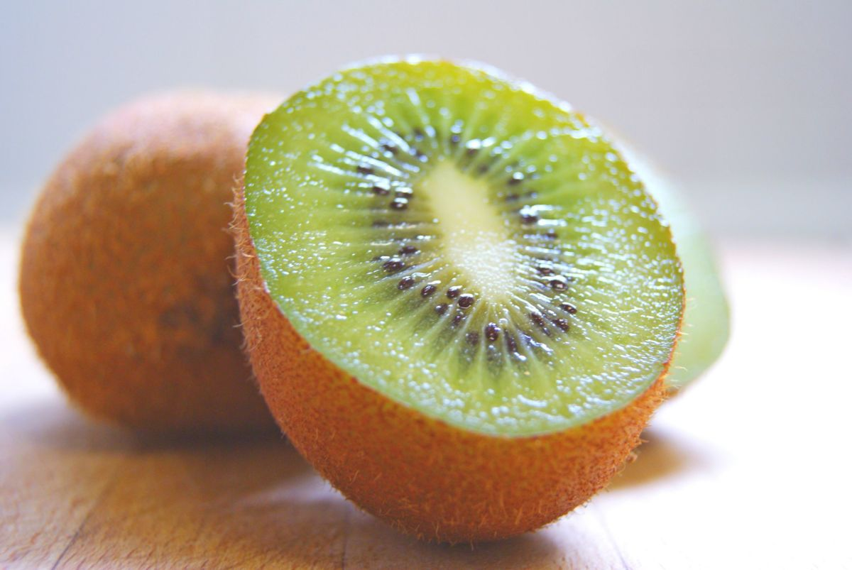 Fresh Kiwi is delicious as a midday snack to eat on salads, or with yogurt!
