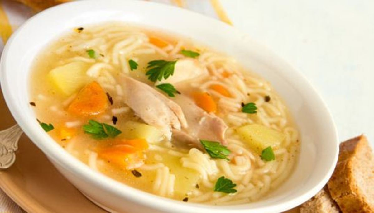 Easy Chicken Soup From Scratch  Simply DELICIOUS