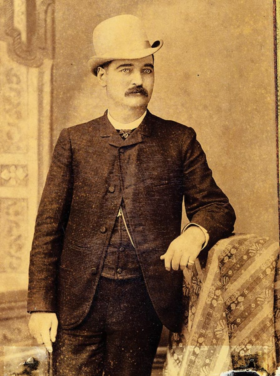 It was no secret that Doc Holliday was despised by lawman Bat Masterson, who objected to Holliday's hot-headedness and obnoxious behavior.  Both men, however, were considered to be the best friends of Wyatt Earp.