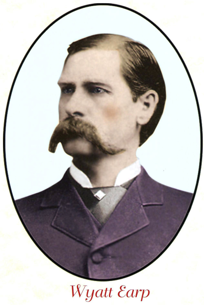There were many famous men in the old west, but none more famous or more admired than the legendary lawman Wyatt Earp.