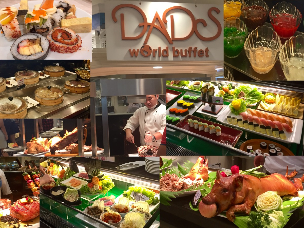 Review: Dad's Saisaki-Kamayan World Buffet, SM Megamall, Mandaluyong City