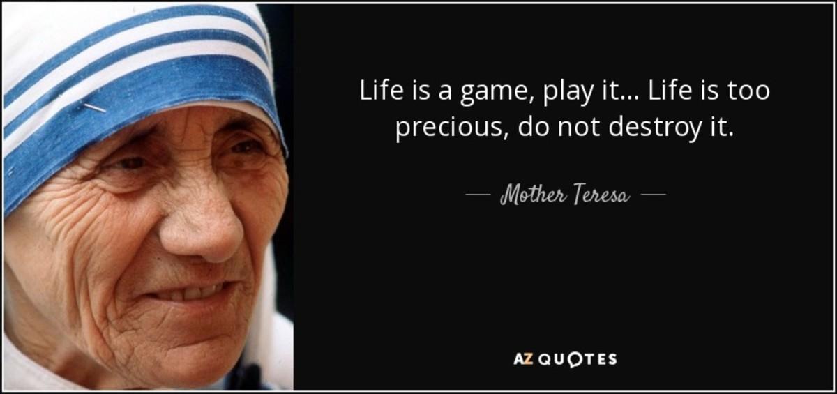 Saint Teresa of Calcutta ([1910-1997] Nobel Peace Prize 1979)