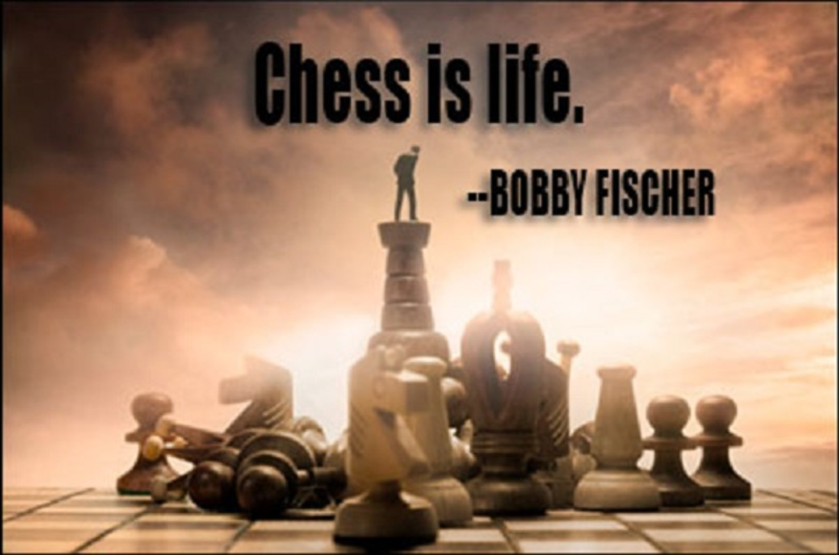 Bobby Fischer ([1943-2008], American chess grandmaster and the eleventh World Chess Champion)