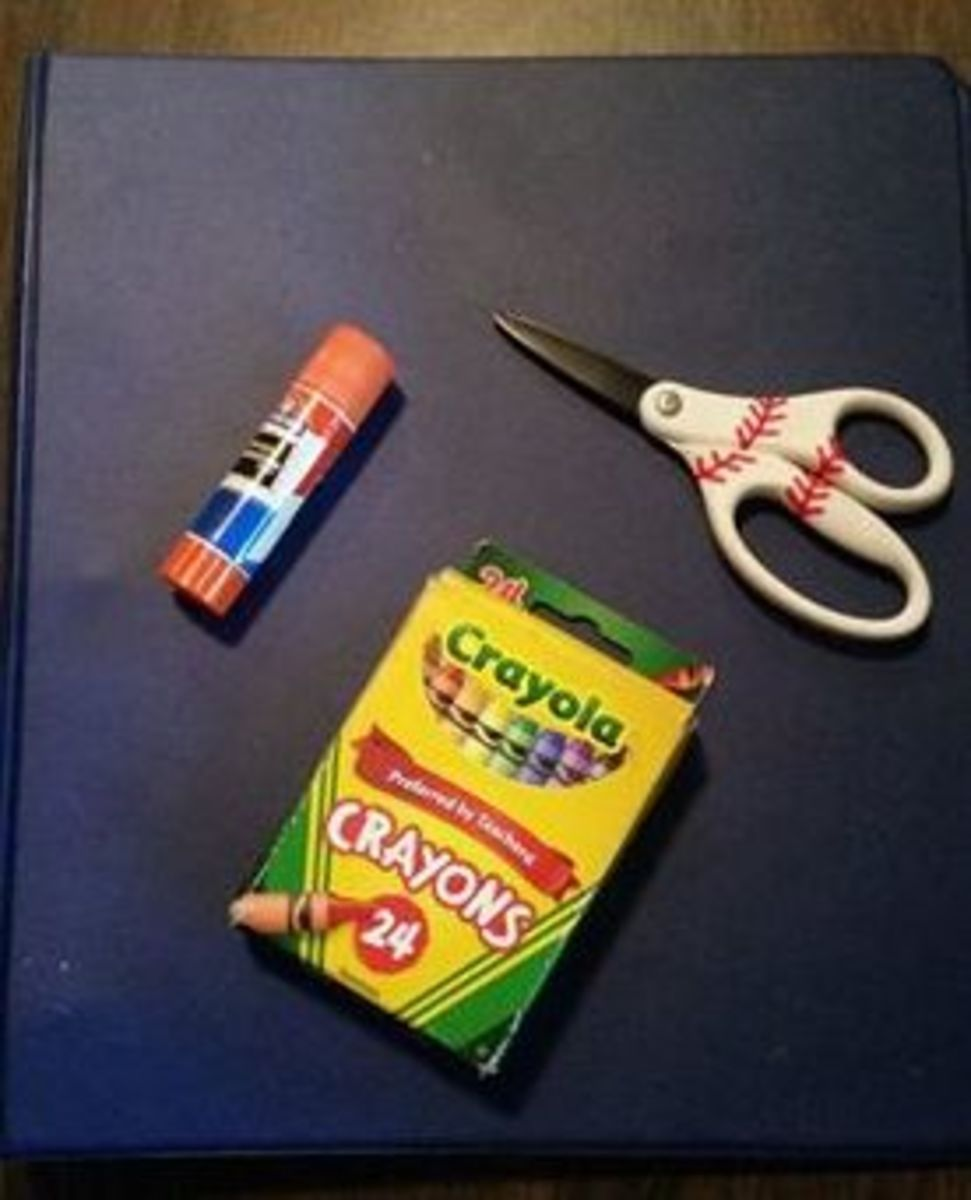 Needed Class Supplies: 3-ring binder, glue stick, scissors, and crayons