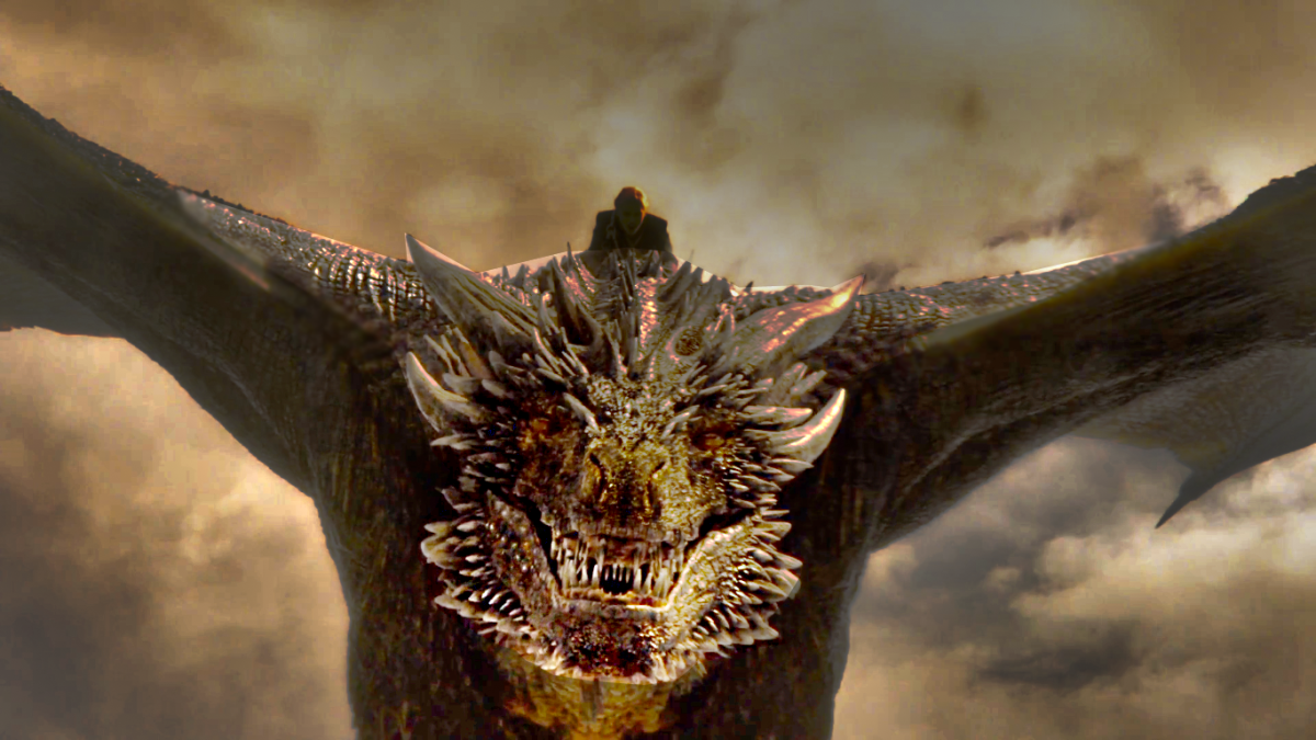 Drogon's Big Day