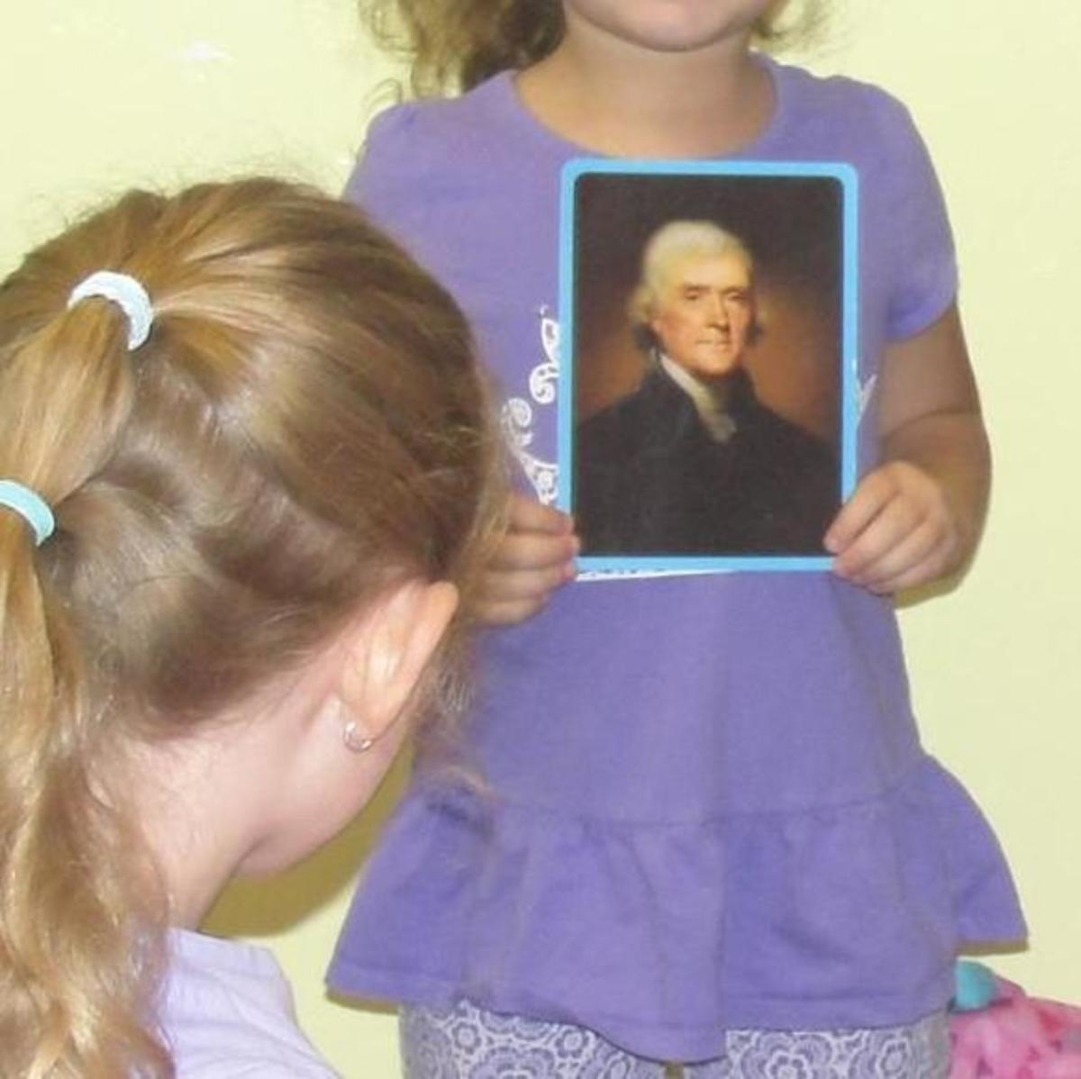 Student biography report on Thomas Jefferson