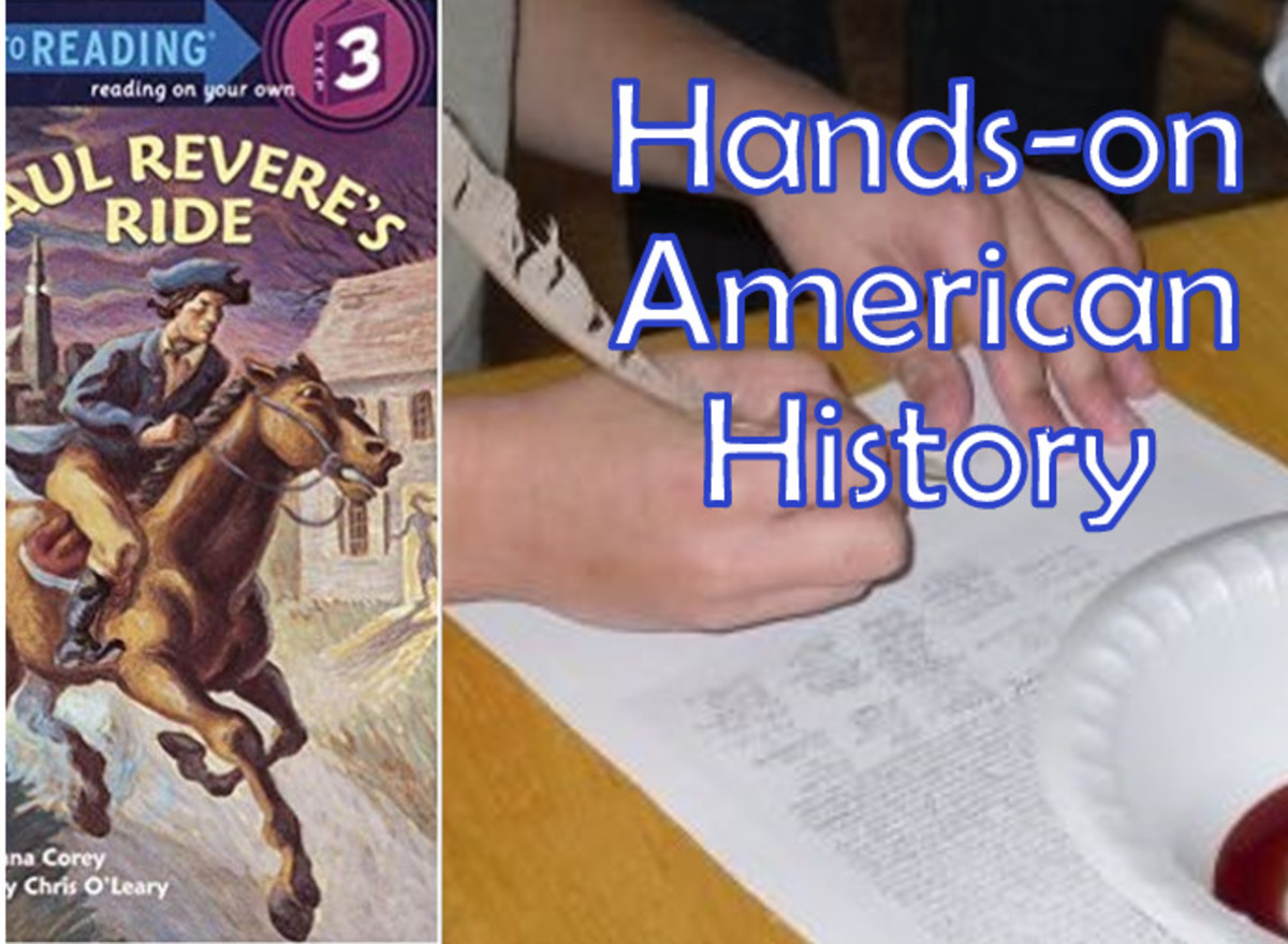 Hands-on American History: First Shots & Declaration of Independence Lesson