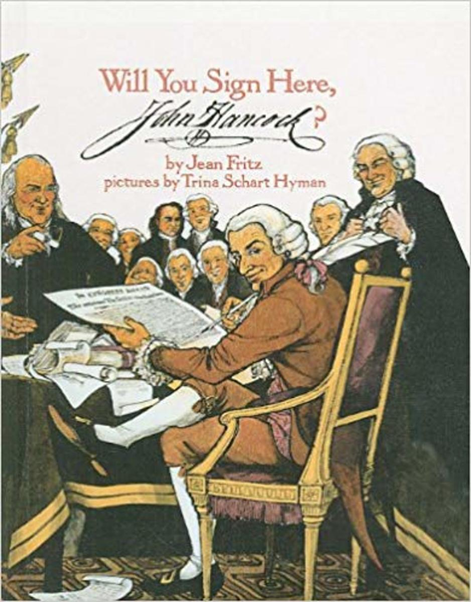 Will You Sign Here, John Hancock? by Jean Fritz