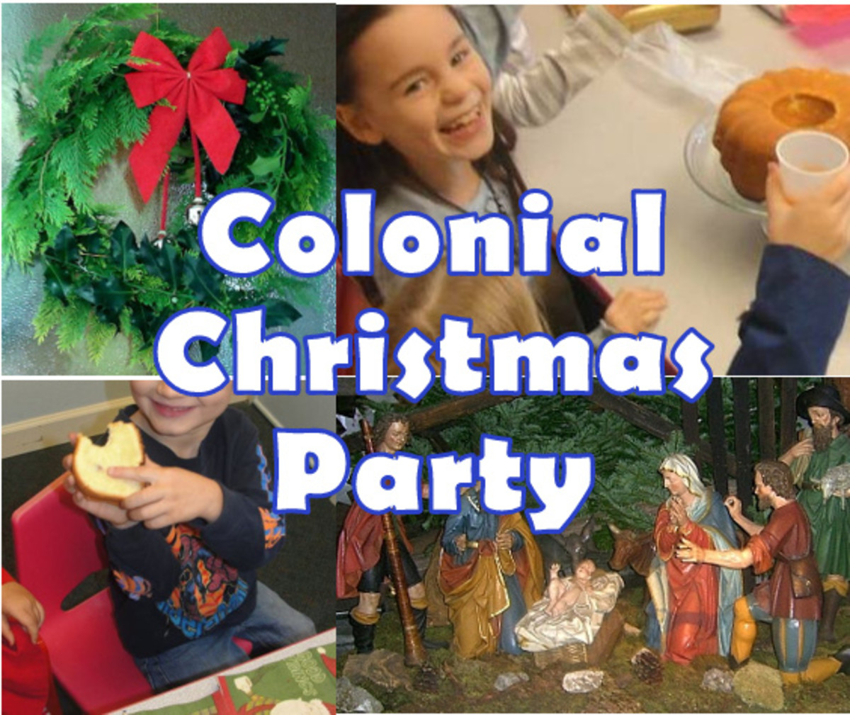 Colonial Christmas Party for Kids
