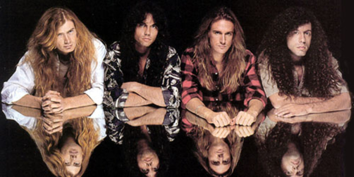 Marty Friedman in Megadeth