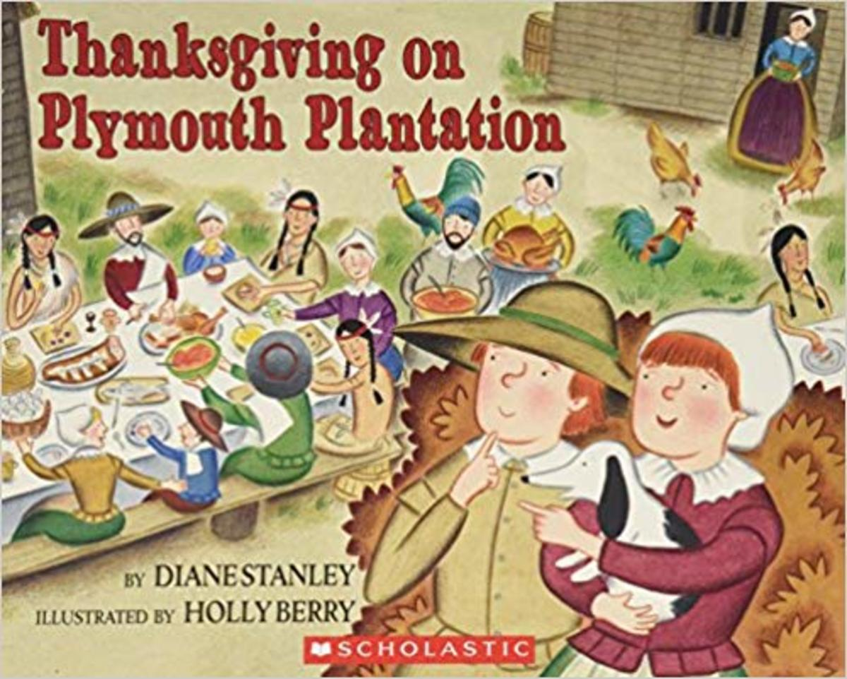 Thanksgiving on Plymouth Plantation (The Time-Traveling Twins) by Diane Stanley - All book images are from amazon .com.