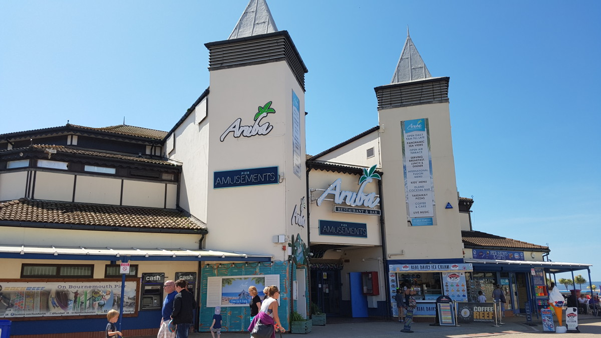 The Entrance of Bournemouth Aruba Pier