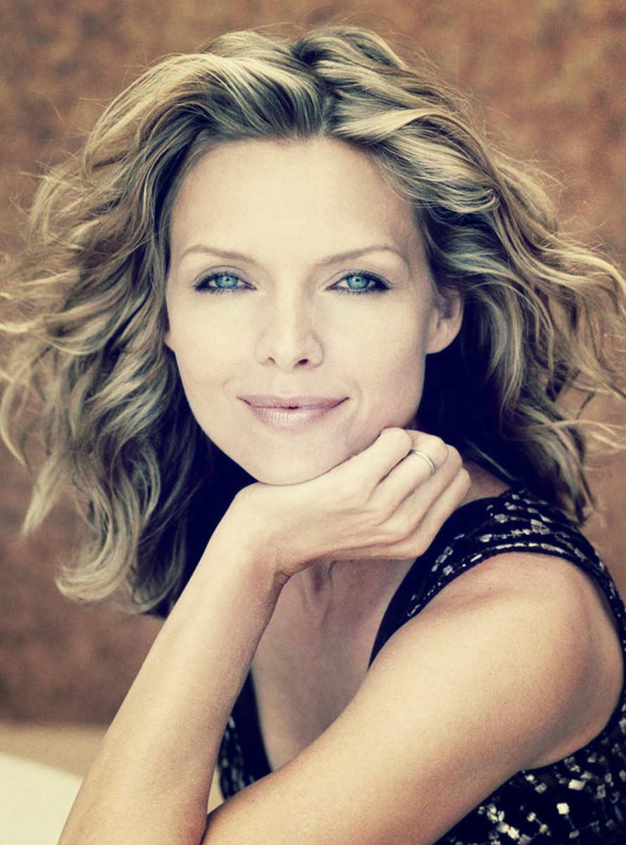 Michelle Pfeiffer has admitted she's a typical Taurus.