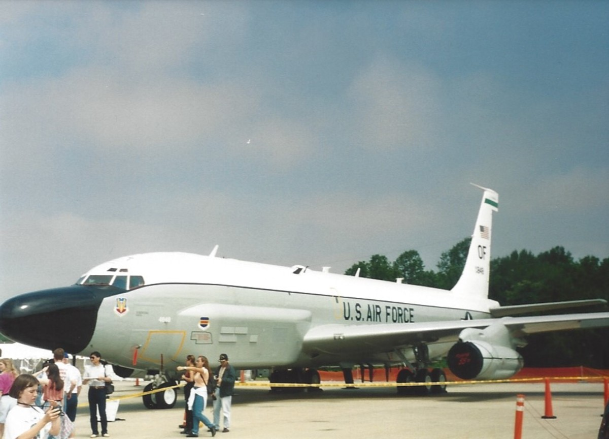 An RC-135 at Andrews AFB, MD