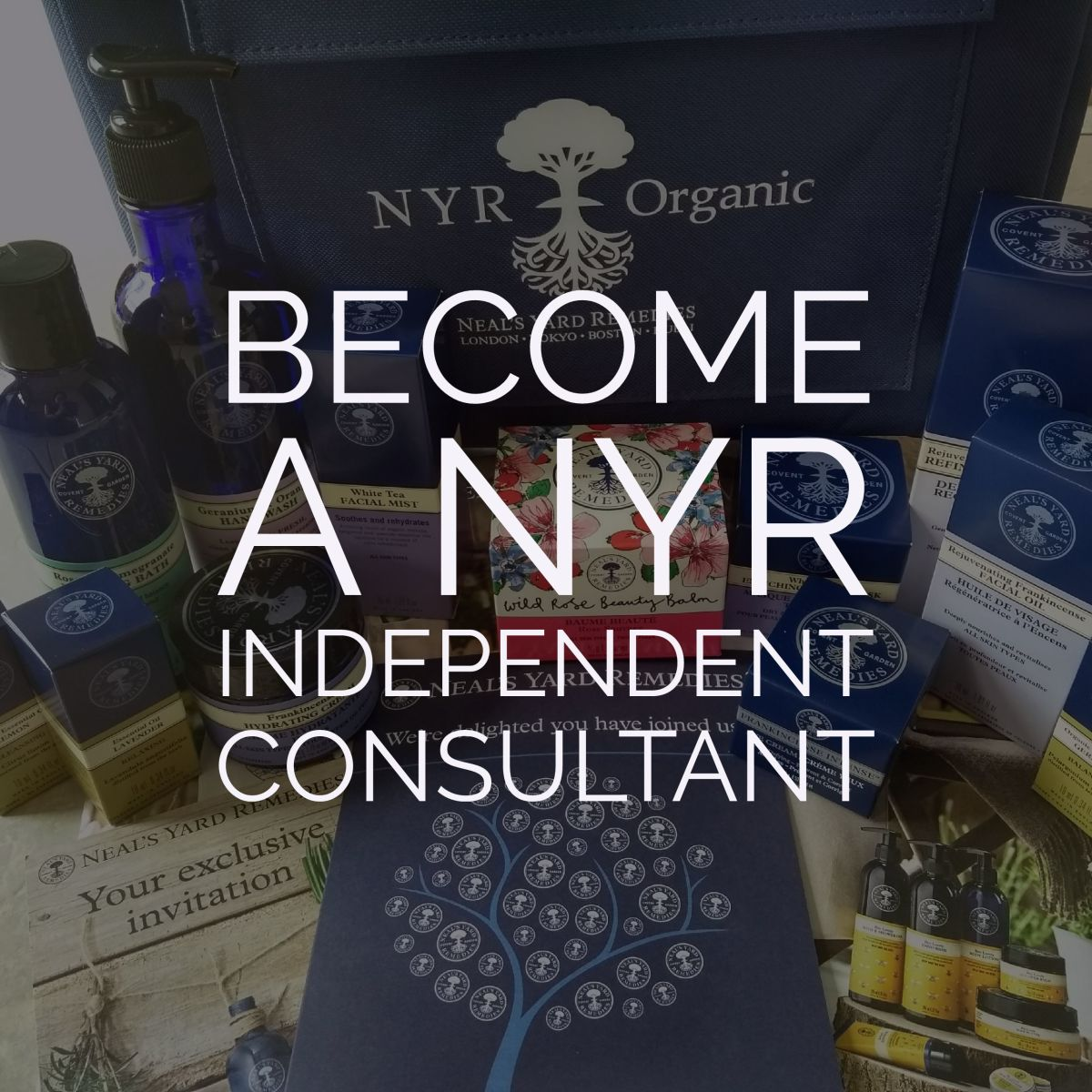 8 Reasons to become a Neal's Yard Remedies Independent Consultant