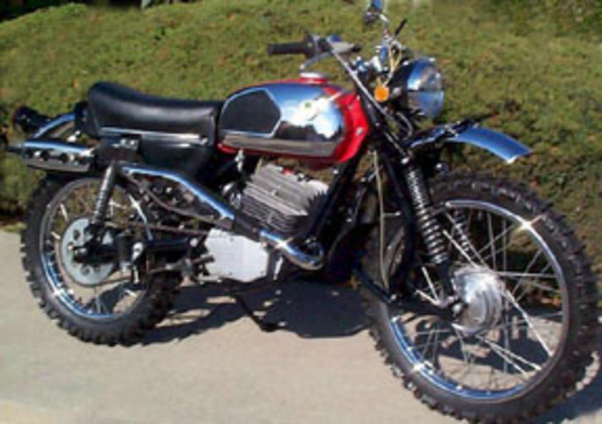 1972 DKW 125 Enduro