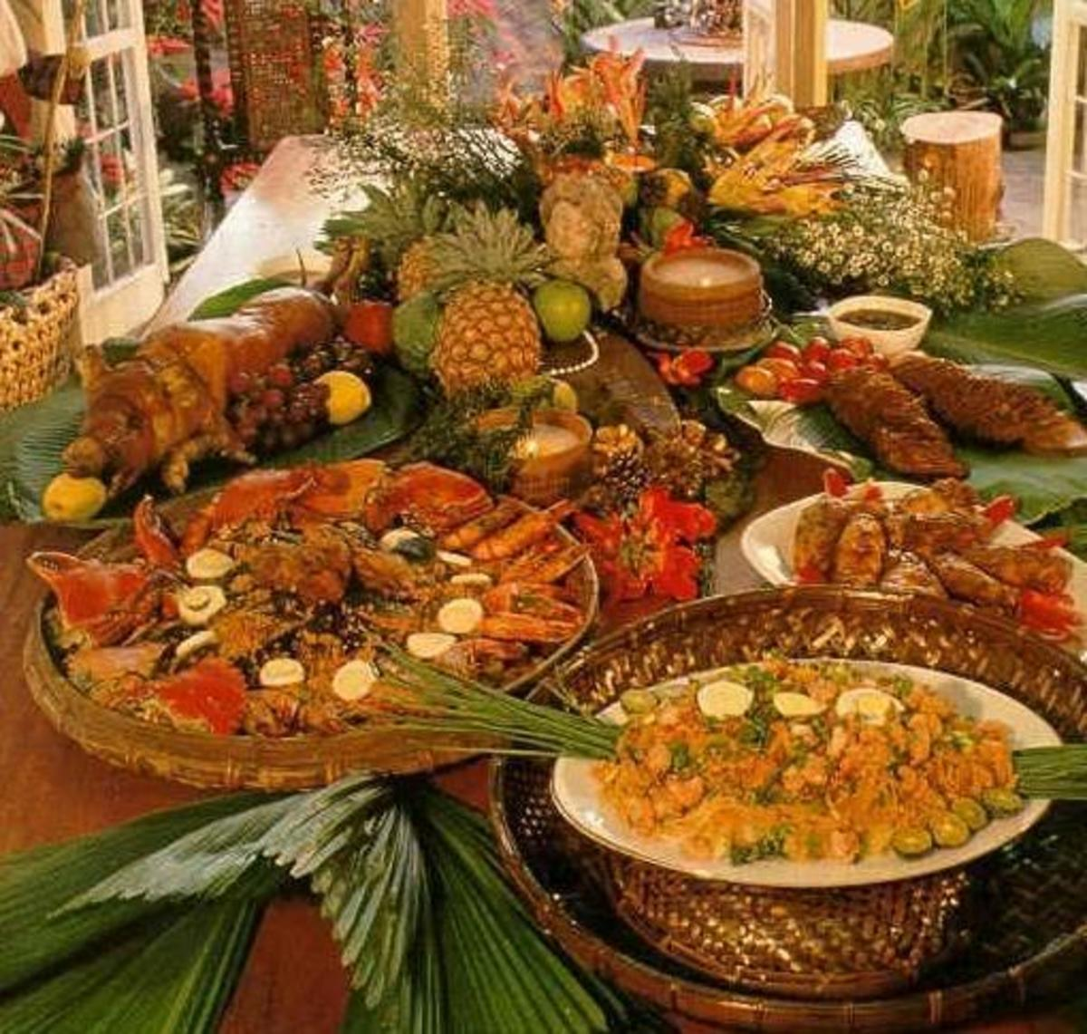 Filipino food fiesta.. hmmm delicious!