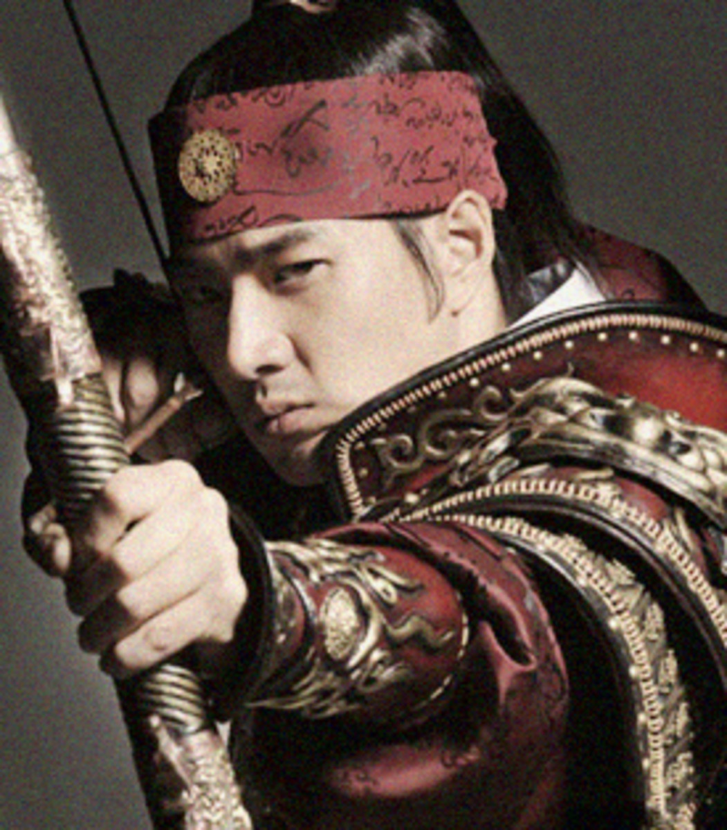 Song Il Gook as King Jumong