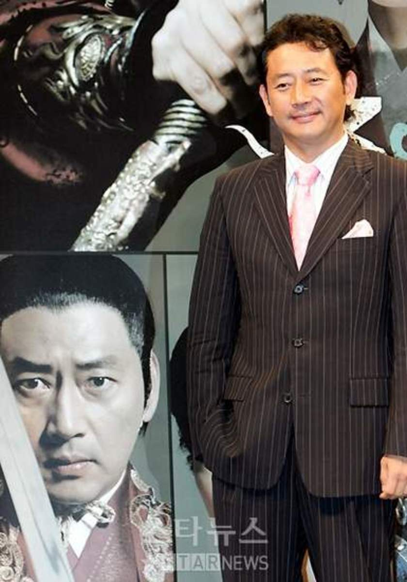 Jeuo Kwang Ryeol as King Geum Wa