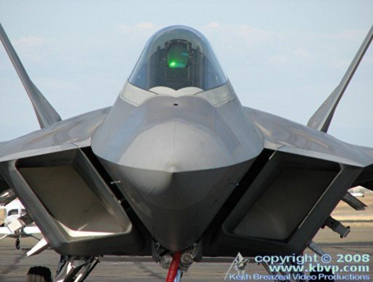 F-22 Raptor Standing Stil