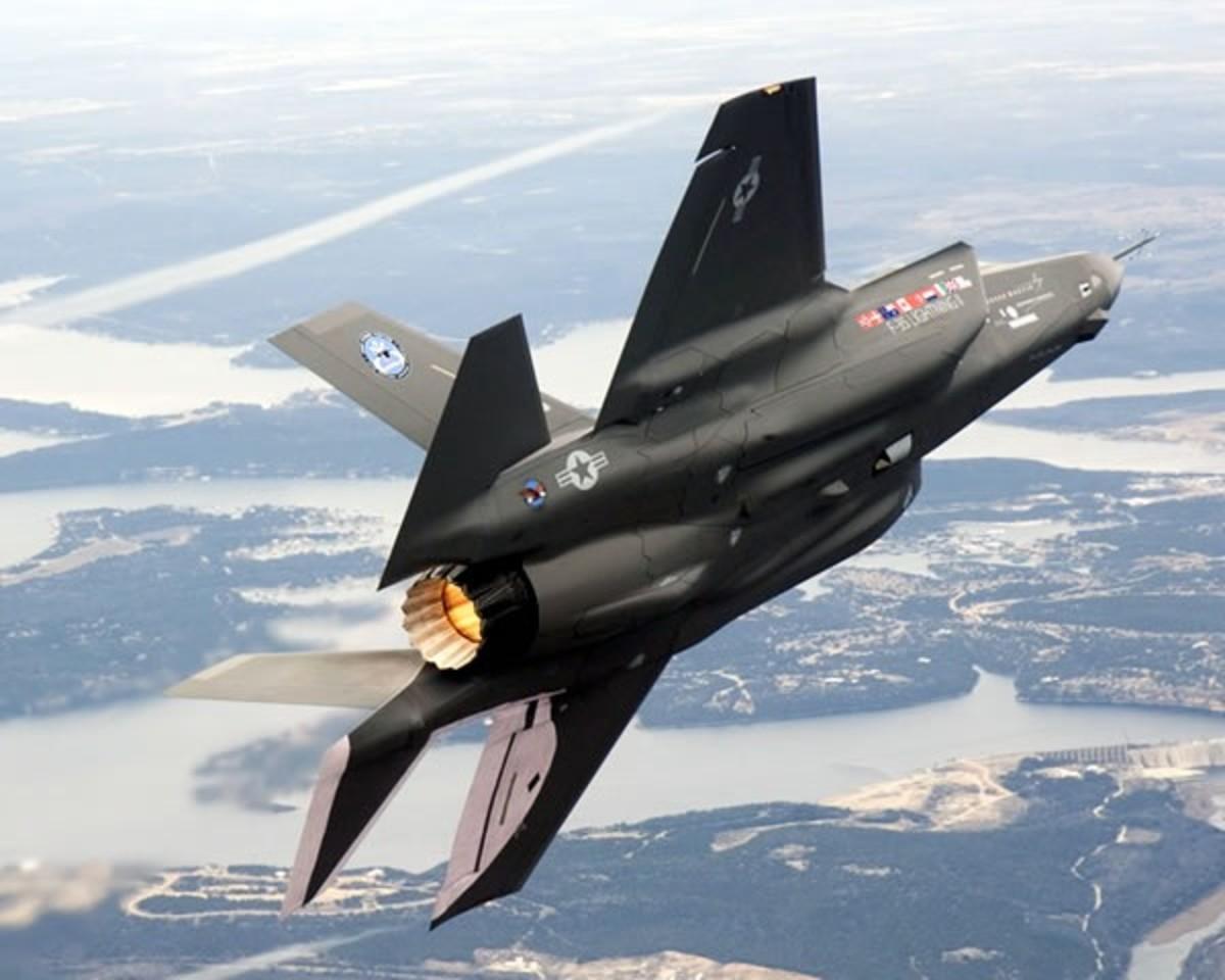 122 million $US F-35 Lightning II