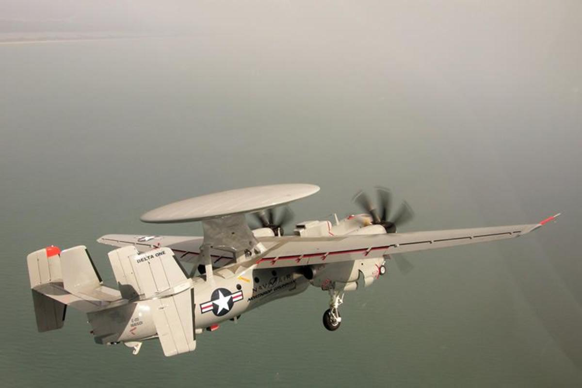 E-2D Advanced Hawkeye - Latest version of E-2