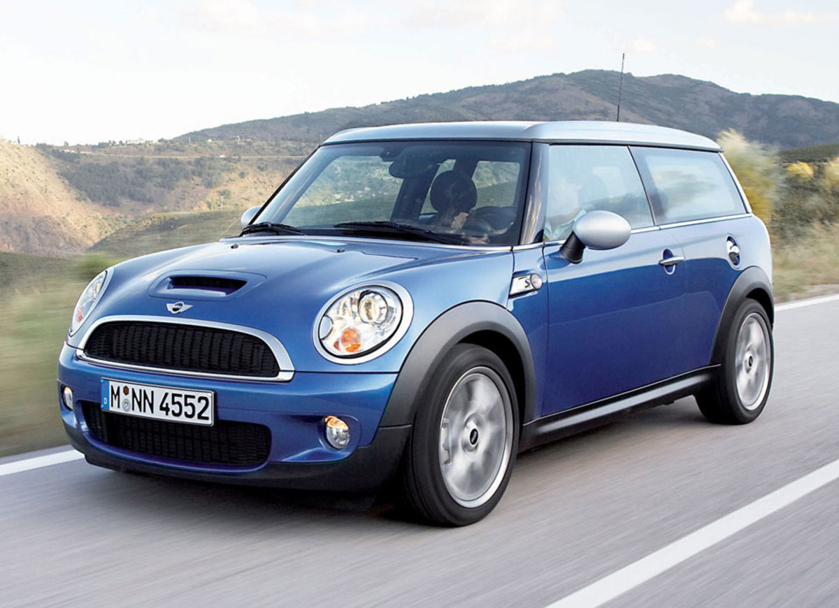 The Mini Cooper One was beautiful, until they decided to put a big fat ass on it and call it Clubman!