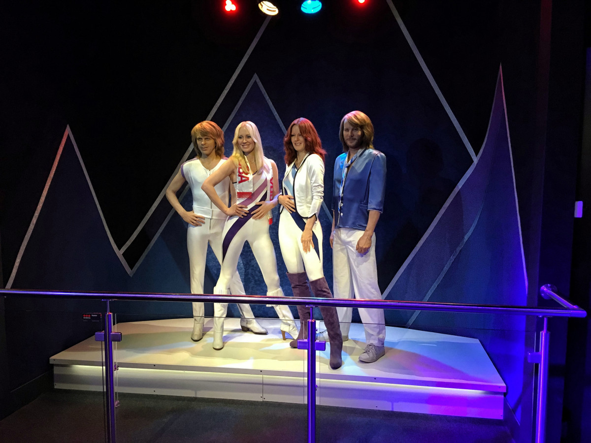 ABBA is the first group of artists to have an album released as a compact disc.