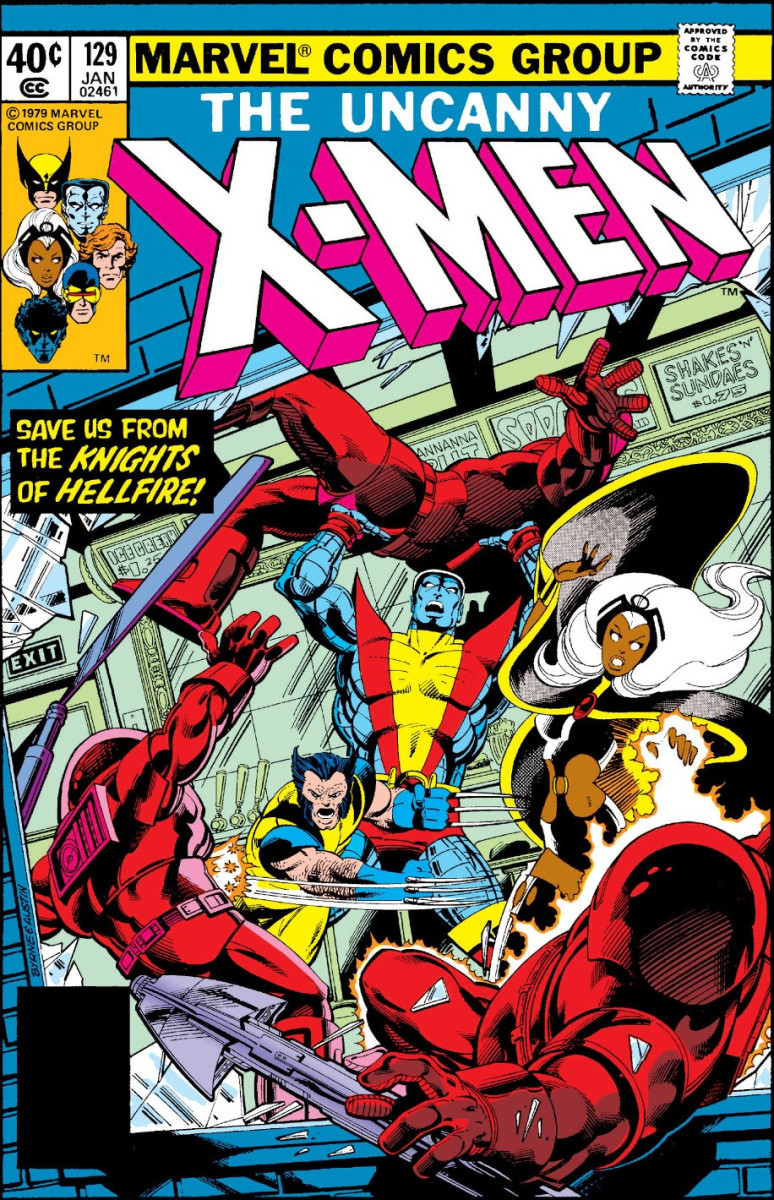 X-Men #129 (Vol 1) - 1st appearance of Emma Frost, cameo of Sebastian Shaw and Hellfire Club, and 1st Kitty Pryde