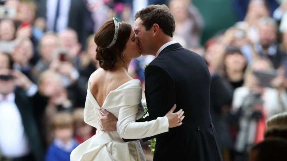 Another Day, Another Royal Wedding, Eugenie and Jack
