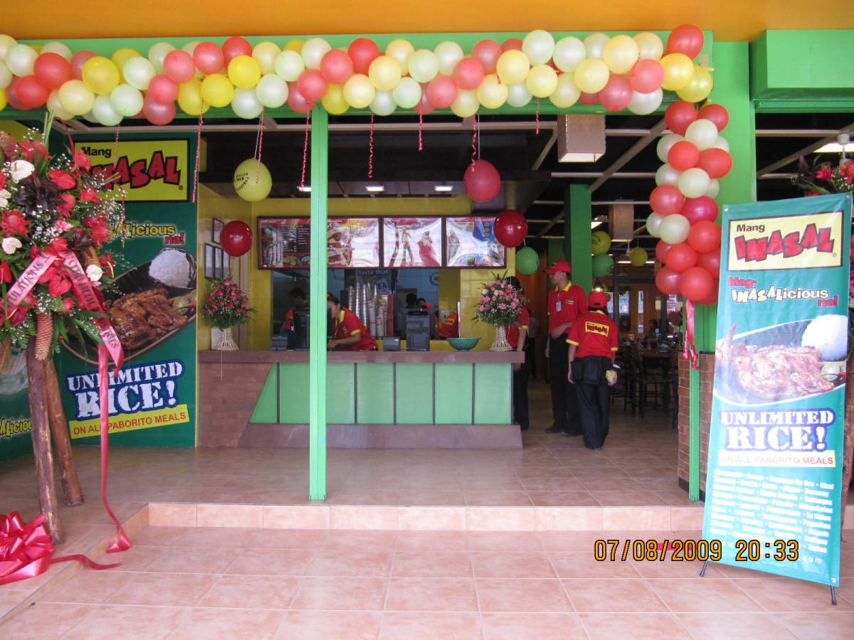 Mang Inasal opening in our city