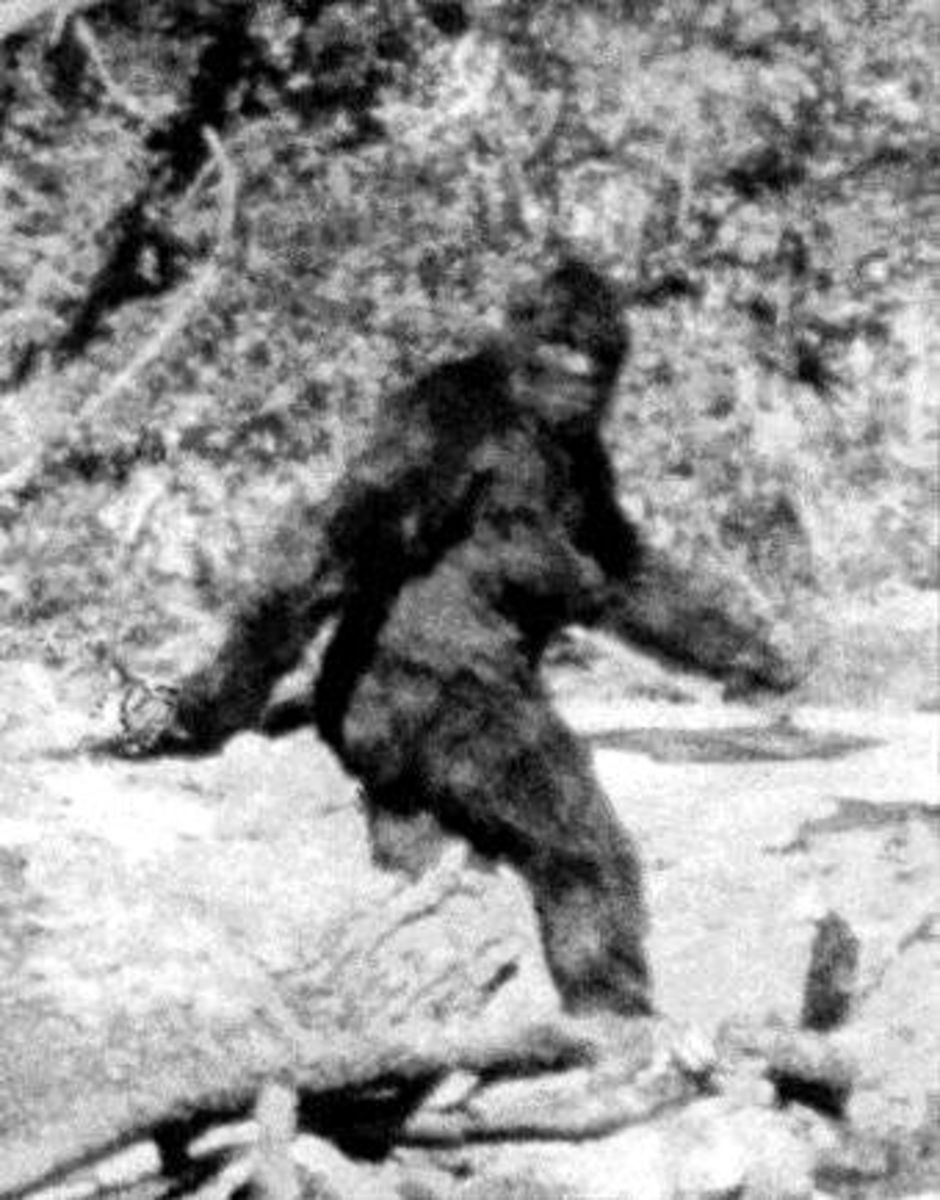 The Legend of the Southeast Oklahoma's Bigfoot, The Boggy Bottom Monster