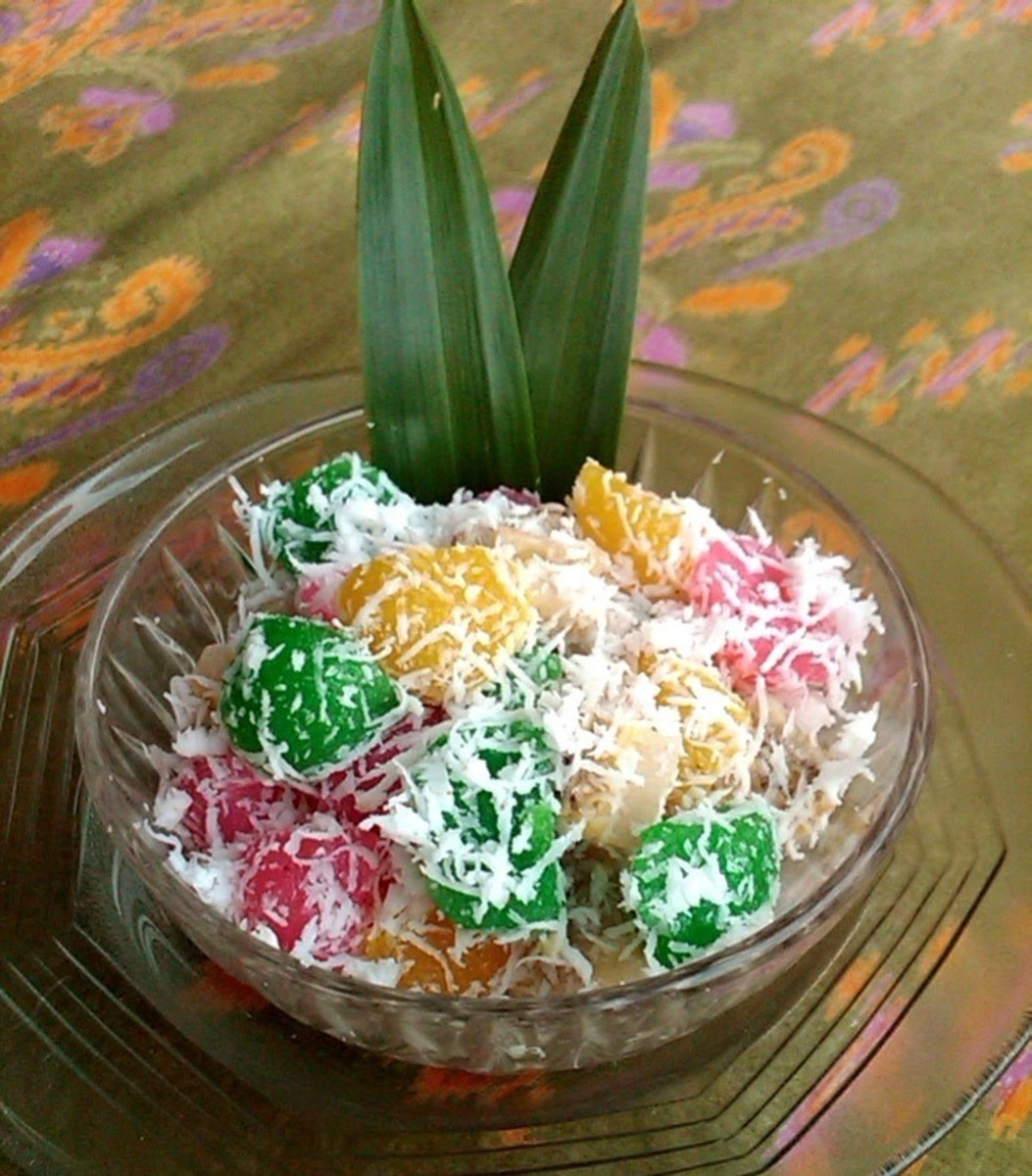 How to Make Cassava Rainbow Balls