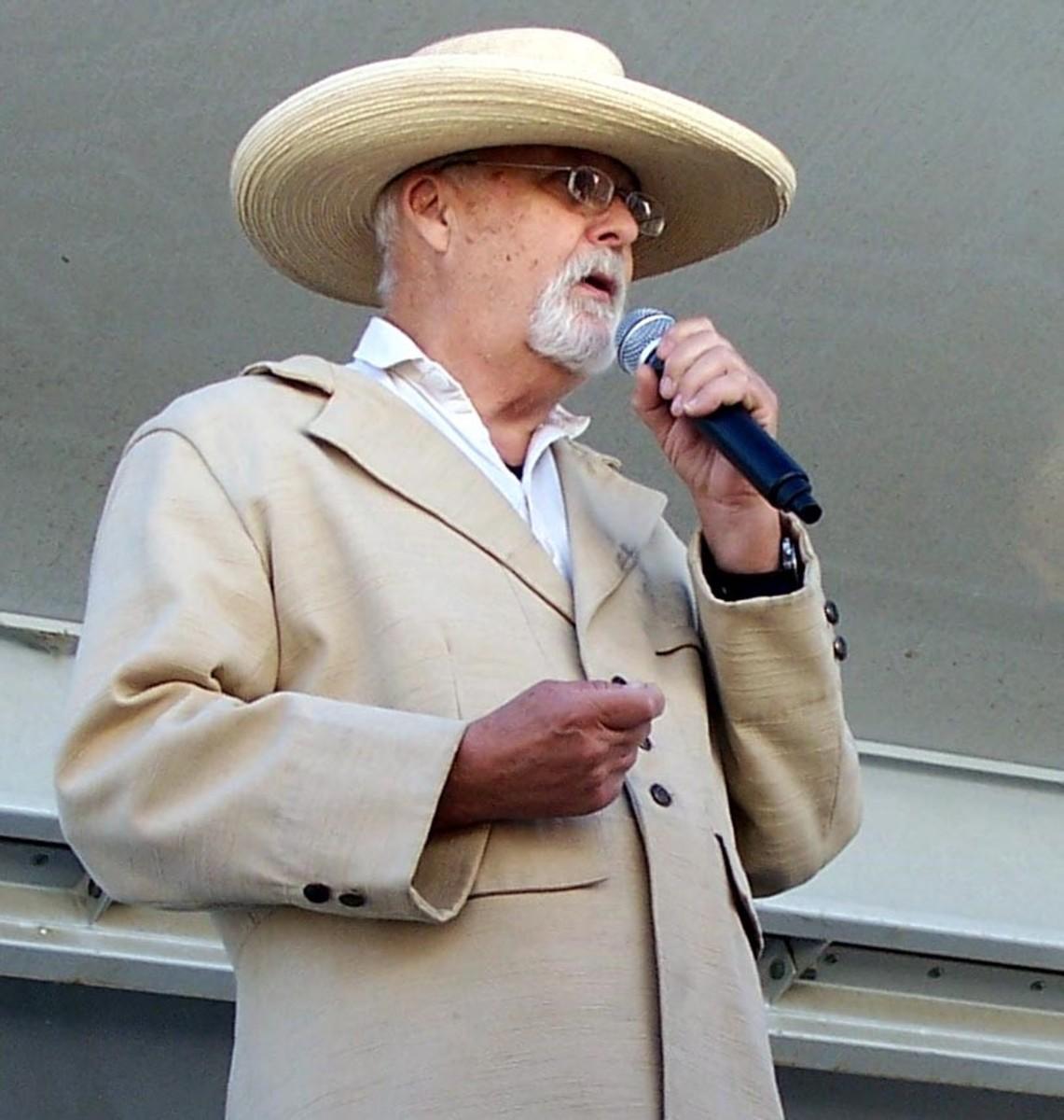 Tim Karlberg, speaking as John Marsh
