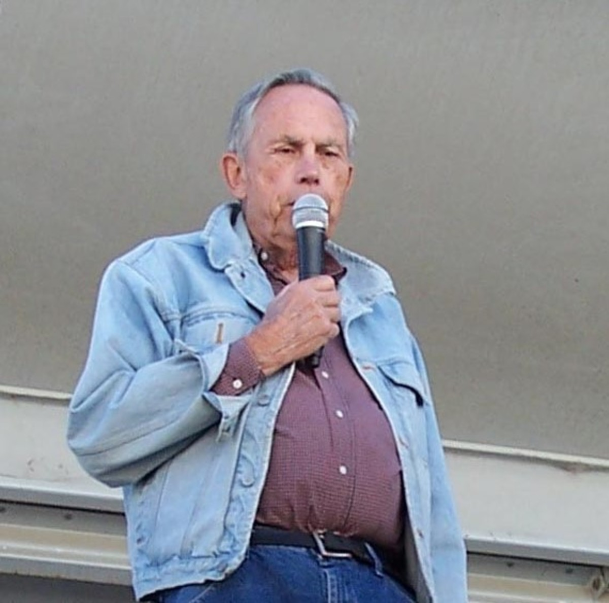 Bill Mero, speaking on the history of John Marsh and his landholdings