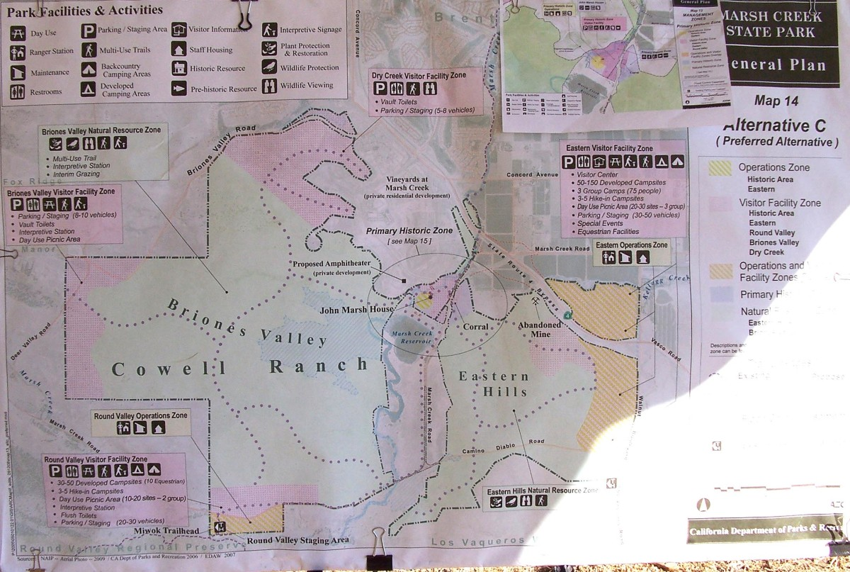 Map shows the area of the house and land holdings