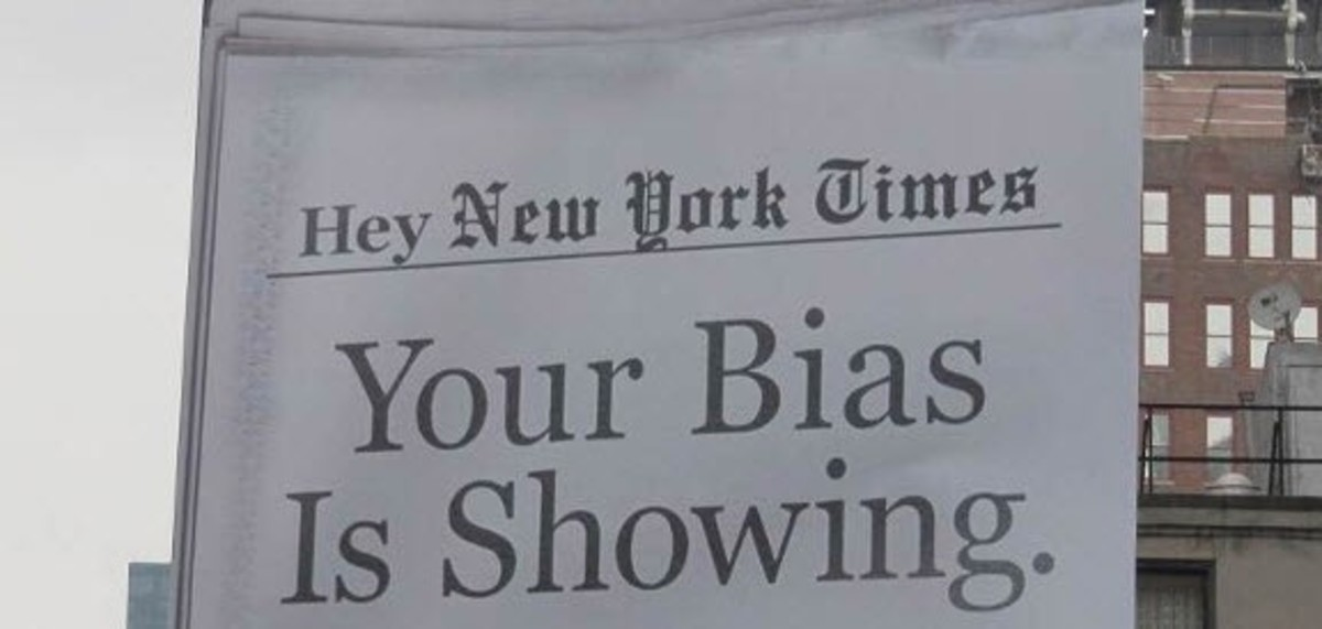 Image result for nyt bias