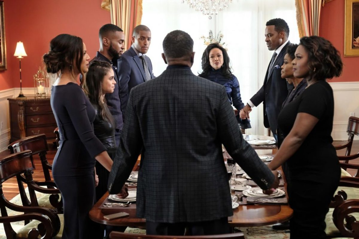 "The Table Scene of ""Greenleaf"" Finale for Season 3"