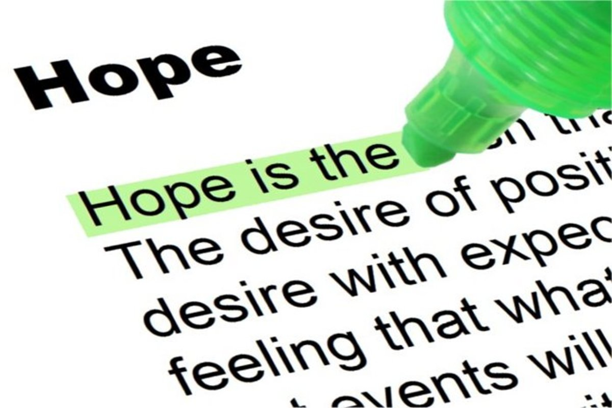 Borrow Hope From Hopeful People