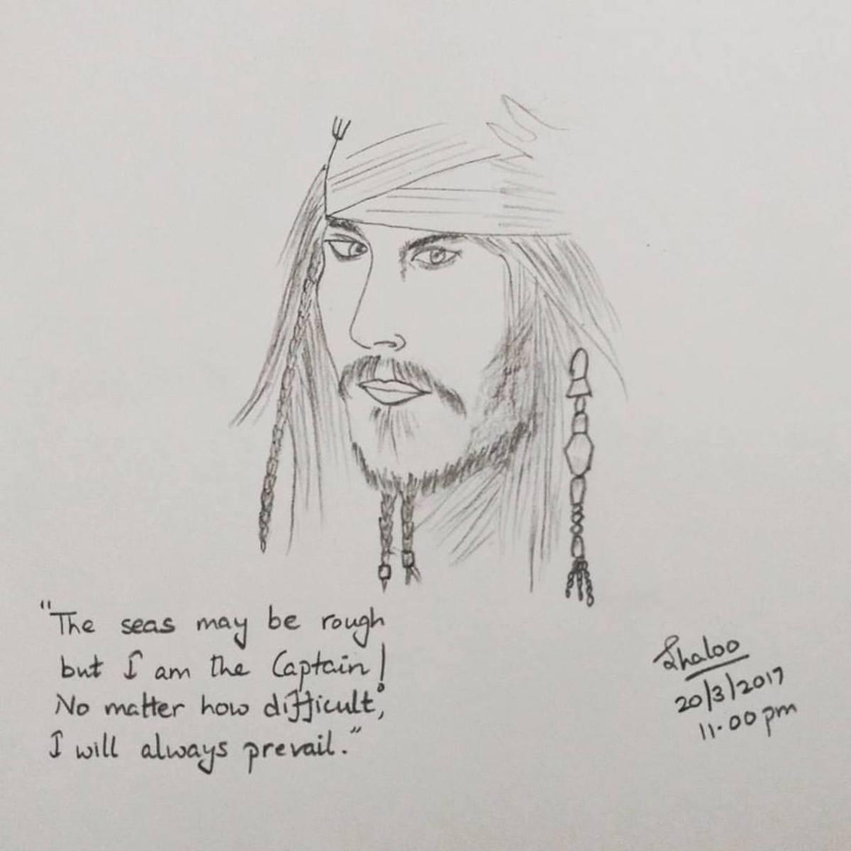 My spirit will live on~ Captain Jack Sparrow