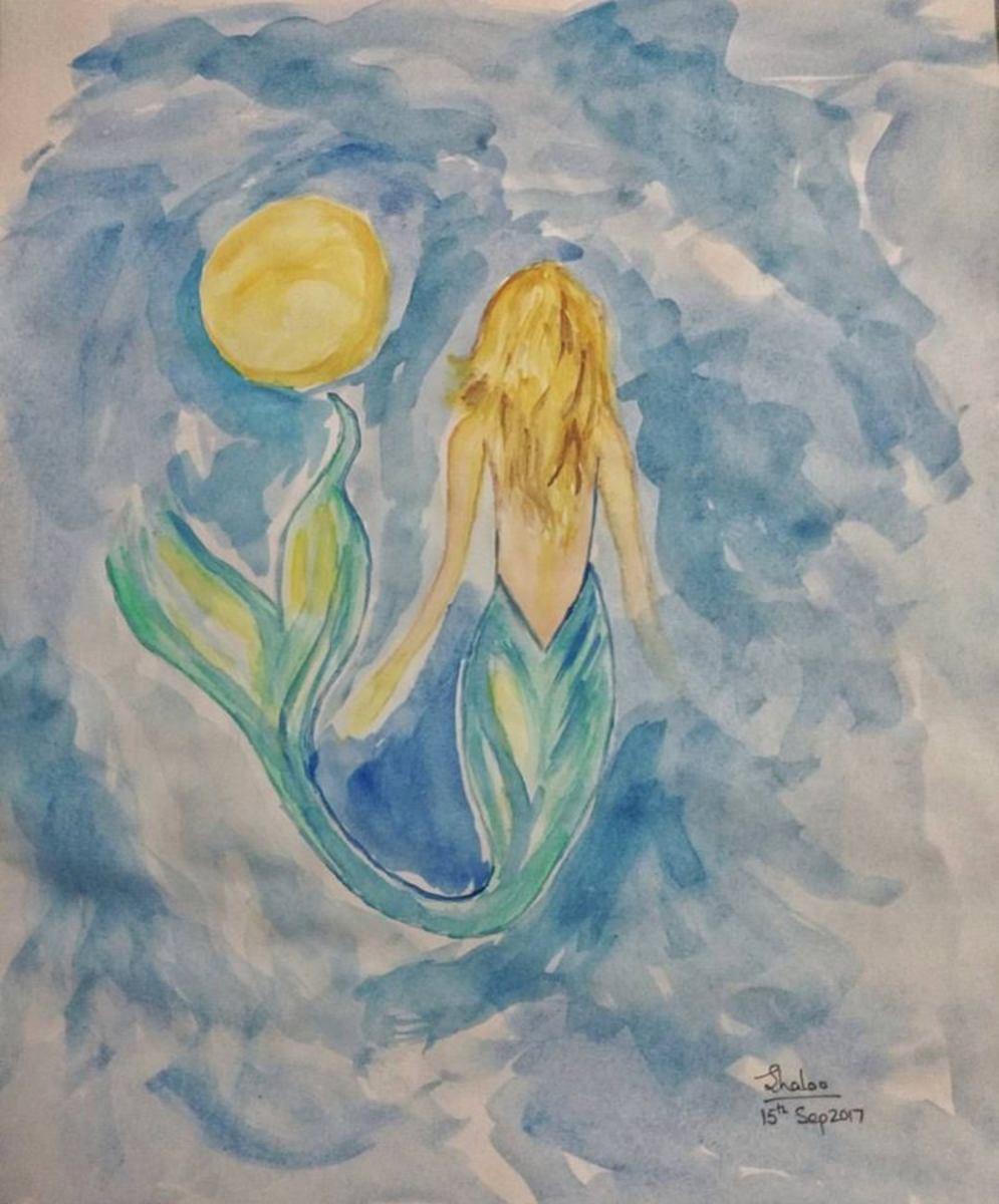 Be a mermaid in an ocean full of fish.