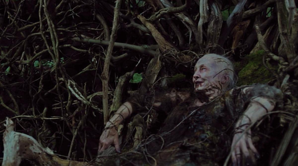 The goddess of Erisden island (Sharon Morgan) in 'Apostle', a Netflix Original (2018).