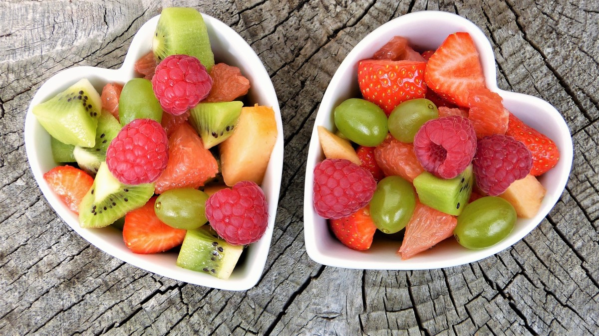 At first, fruits need to be stewed and liquidized but he is looking forward to eating more fresh fruit.