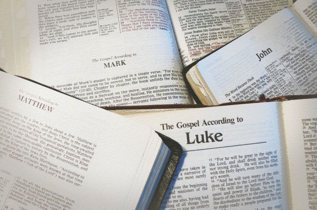 Comparison of the Gospels of Matthew, Mark, Luke and John