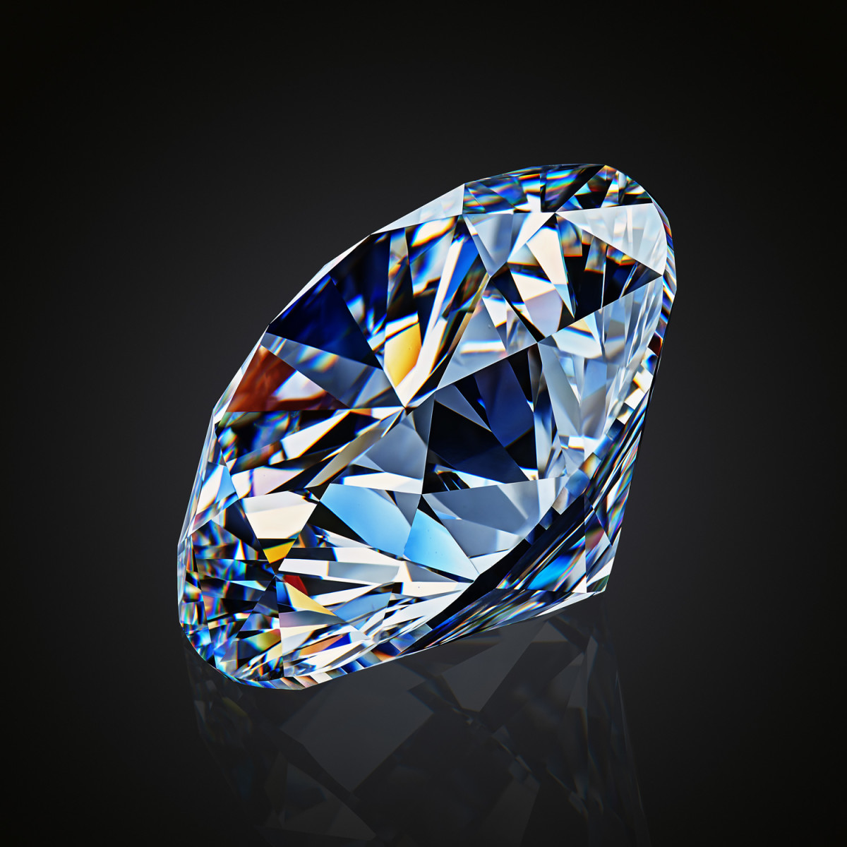 April's birthstone is the diamond.
